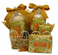 Spiced Pumpkin Soap & Lotion Caddy-20% OFF