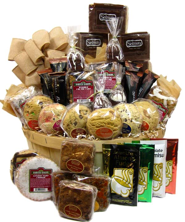 Deluxe Office Coffee & Cookie Basket